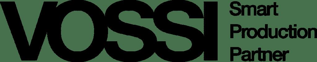Vossi-logo musta PNG-tiedostomuodossa