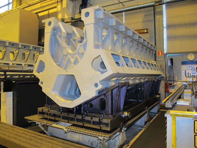 Metronoria hyödyntäen kappale asetetaan valmiiksi paletille ennen koneistusta.